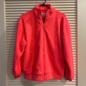 Urban Outfitters: Fleece Zip-Up Jacket